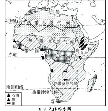 非洲风景区平面图