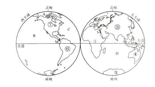 手绘七大洲轮廓图简笔画