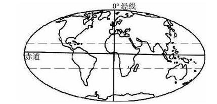读世界海陆分布图,回答下列问题