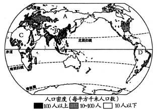 世界人种分布图_世界人口人种