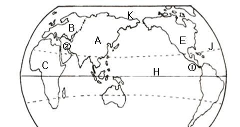 初中地理大洲和大洋试题列表-初中地理陆地和海洋